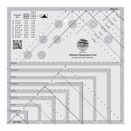 Creative Grids Ultimate Flying Geese Tool