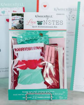 PRE ORDER Kimberbell Love Notes - FABRIC Kit