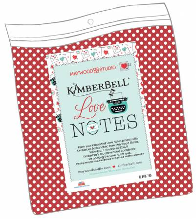 PRE ORDER Kimberbell Love Notes - Backing
