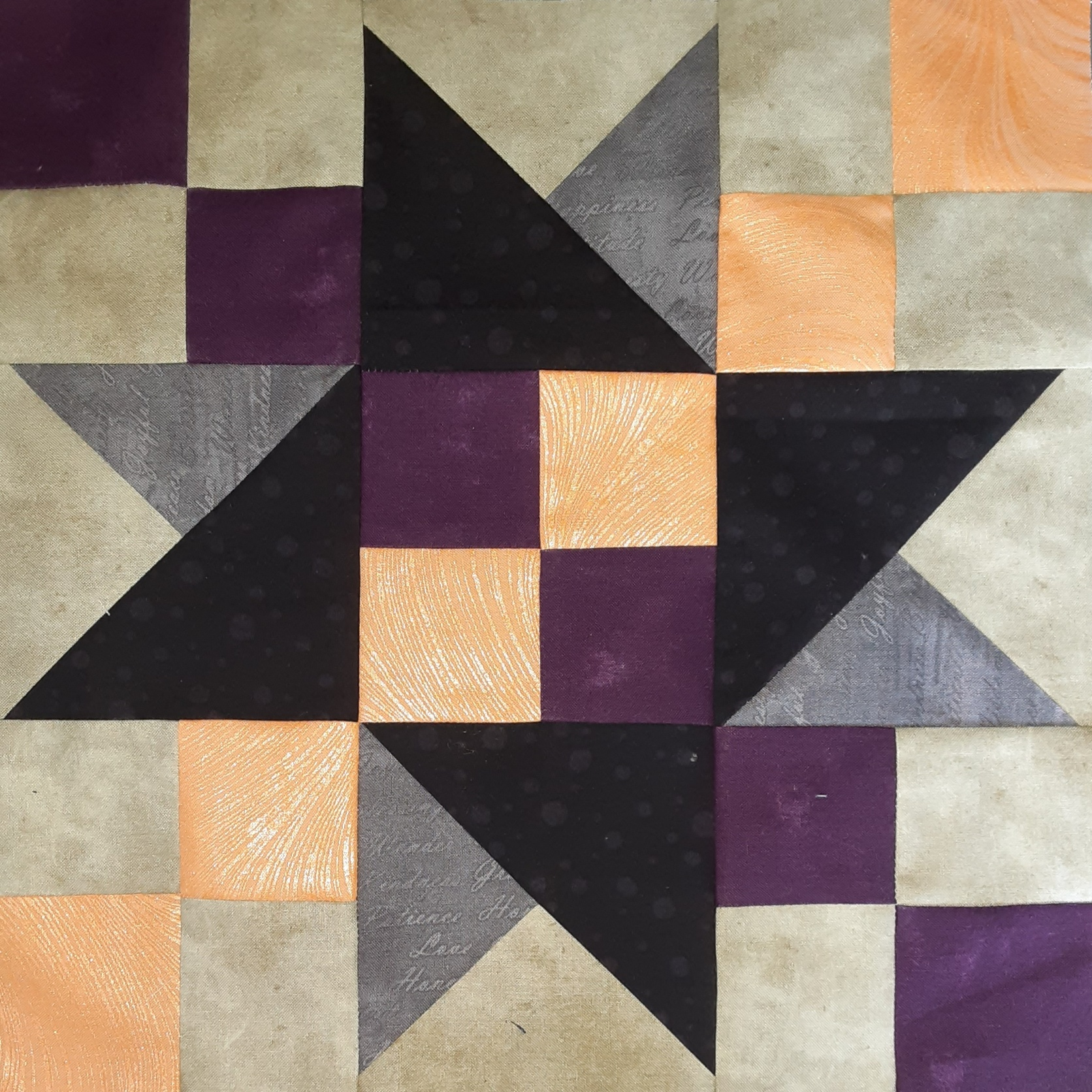September - Halloween #Quiltblockmania